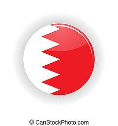 Bahrain icon circle - icon circle isolated on white...