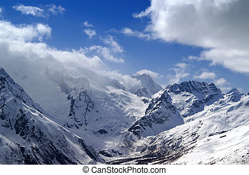 Caucasus Mountains. Dombay