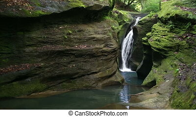 Secret Waterfall Loop - Robinson Falls is a secluded, hidden...