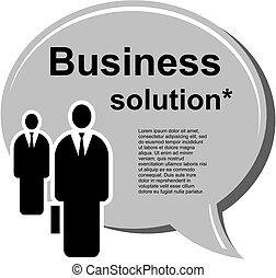 Business men vector illustration - Business and finance...