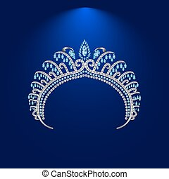 illustration crown diadem tiara 2 .