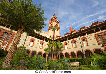 Flagler College - ST. AUGUSTINE, FLORIDA, USA - JANUARY...