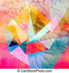 Abstract watercolor background - Watercolor abstract...
