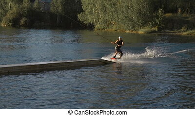 Extreme water sports are gaining popularity around the...