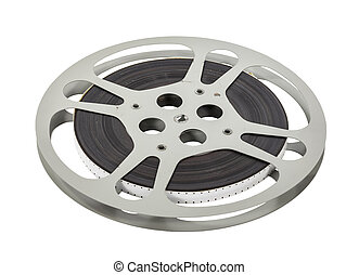 Vintage Double Sprocket 16mm Film Reel - Vintage double...