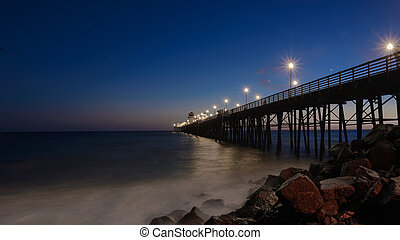 Blue Hour Oceanside - Blue Hour