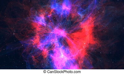 Approximation to the fantastic and colorful nebula