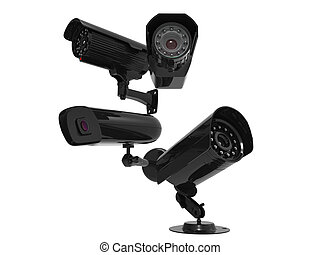 Security cameras - four different models
