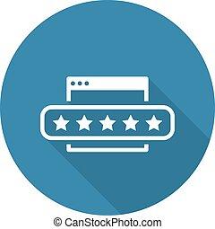 Customer Feedback Icon.