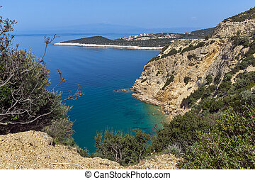 small beach in Thassos island - Amazing small beach with...