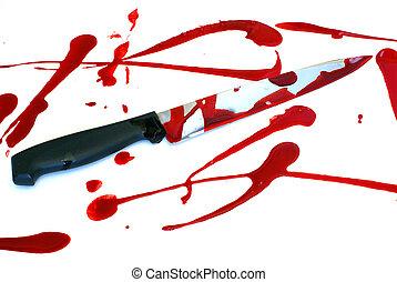 Bloody Kinfe Scene