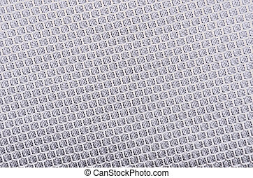 Textured synthetical background - Close up of gray textured...