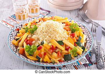 vegetal, Couscous