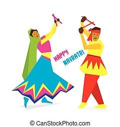 celebrate navratri festival design - celebrate navratri...