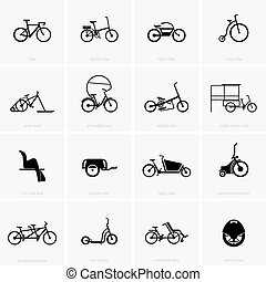 Bicycles - Different types of bicycles