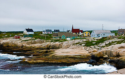 View of Peggys Cove