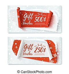 Two, Christmas Time, winter gift vouchers. - Two, Christmas...