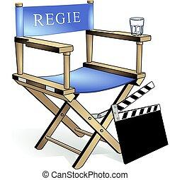 chair, film regie