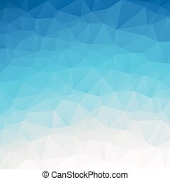 Ice Blue Polygon Background