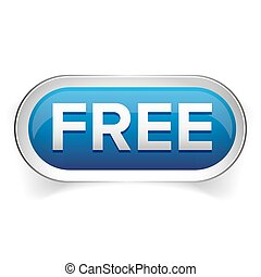 Free button for web vector