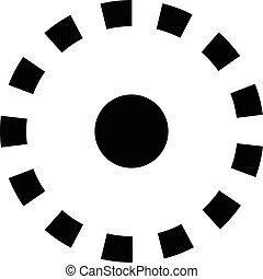 record button vector icon