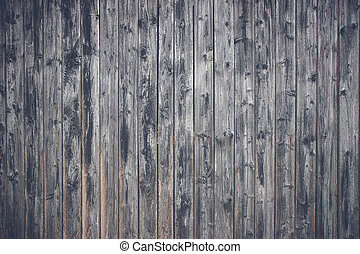 Wooden planks in black color with a matte tone