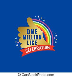 One Million Likes Celebration