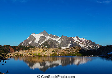 Mt. Shuksan - Mount Shuksan in Washington, USA
