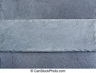 slab of grey slate on slate background