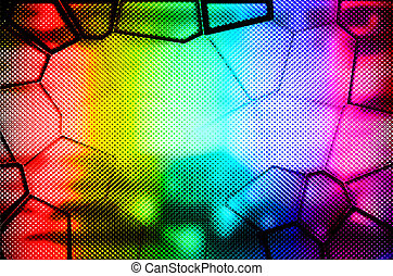 Multicolor background - abstract multicolor background with...