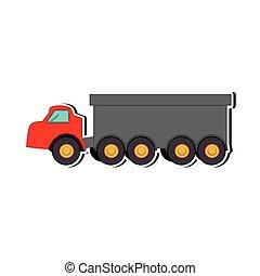 construction truck dump