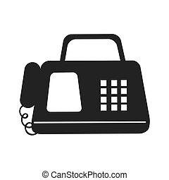 fax machine telephone - digital Fax machine office phone...