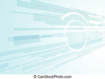 vector background abstract technology communication concept,futuristic background, techno circle
