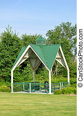 Picnic Shelter in Park