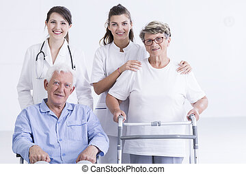 Treating their patients like a family - Portrait of young...