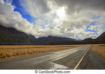 landscape of knobs flat important beautiful destination of...