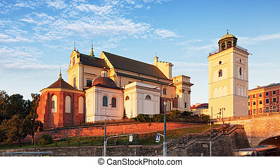 St Annes Church, Warsaw; Poland -  - Kosciol sw Anny