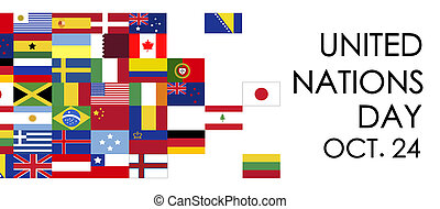 International united nations day, October 24