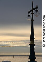 lamp - The sunset its very nice place