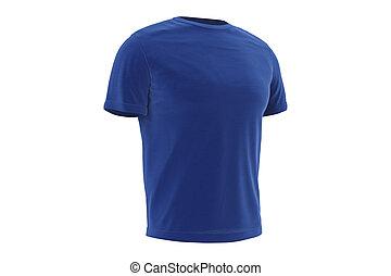 T-shirt blue clothing