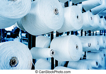 Cotton mill - Factory on manufacture of threads