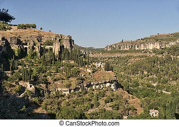 Cuenca Spain, landscape - Cuenca Castilla-La Mancha, Spain,...