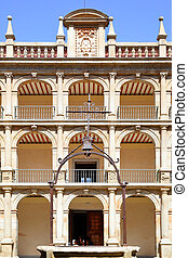 University of Alcala - Courtyard of The University of Alcala...