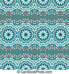 Vector ethnic colorful bohemian pattern - Vector tribal...