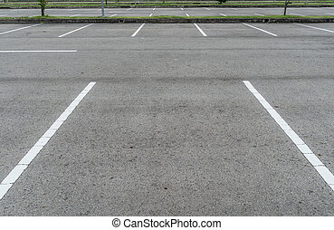Carpark - Empty car park