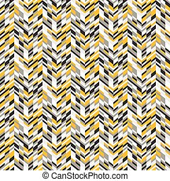 Abstract techno chevron pattern