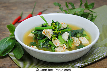 Spicy Canton soup