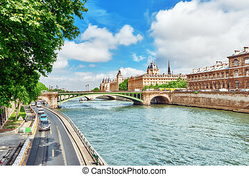 River Seine, Registry of the Paris Commercial Court and...