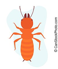 Termite Insect Vector - Comic Termite Insect Vector...