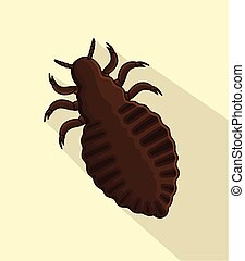 Lice Vector Insect Vector Illustration